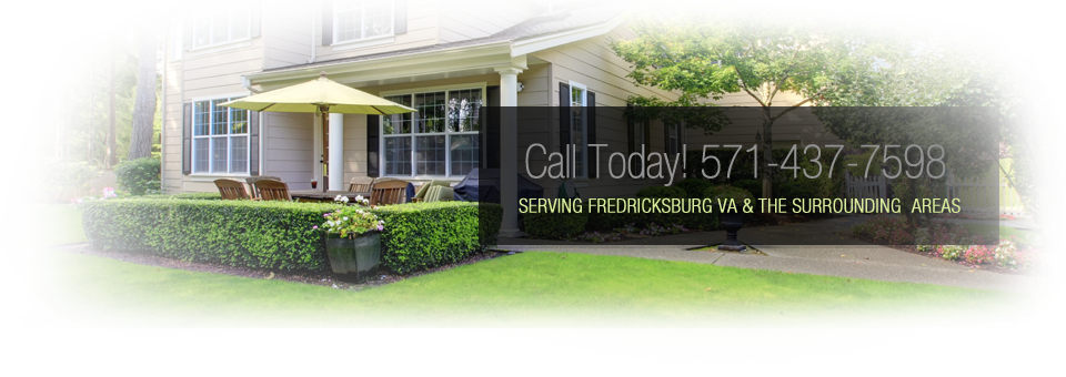 Fredericksburg Landscaping - Banner Our Company